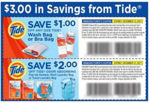 Tide Care Coupons