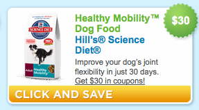 Hill's Science Diet Dog Food Coupon