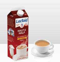 lactaid half and half